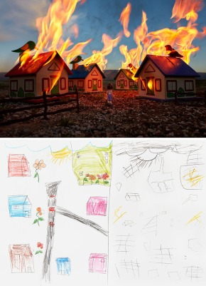 War Toys_Burning Neighborhood, Brian MacCarty