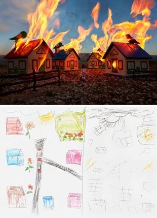 War Toys_Burning Neighborhood, Brian MacCarty