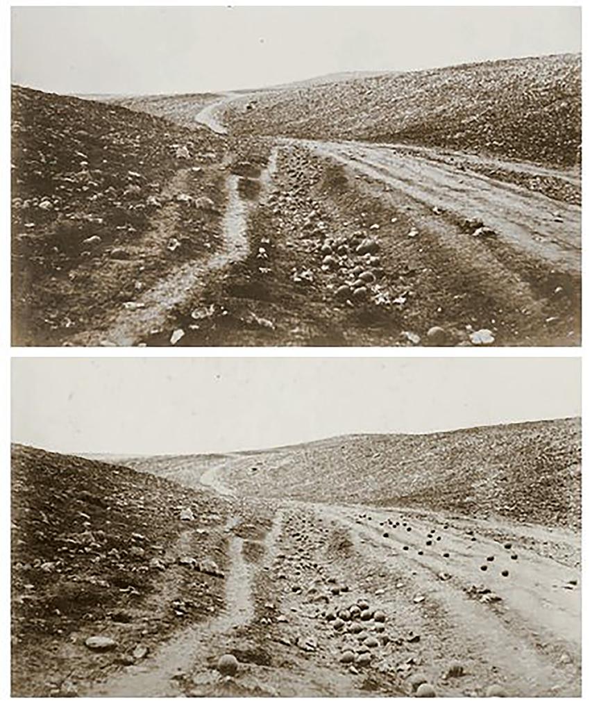 1.R.Felton, la valle dell'ombra della morte, 1855, Crimea
