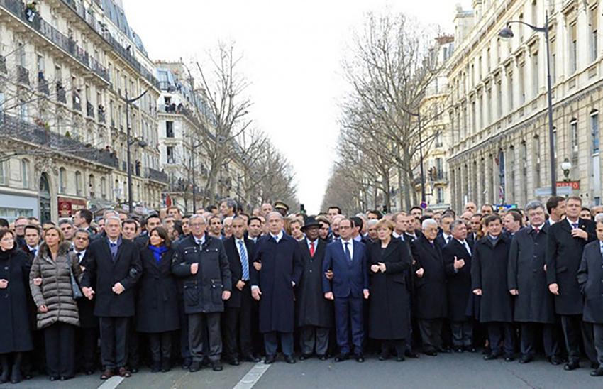 3.Manifestazione per l'attentato Hebdo Parigi 2015