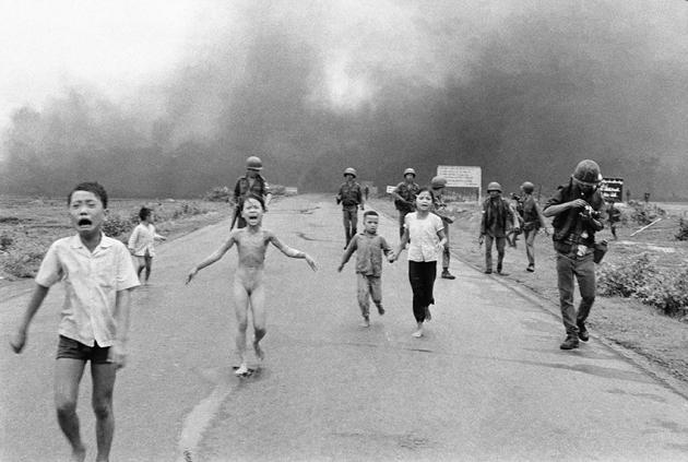7.Kim Phuc fotografata da Nick Ut1972
