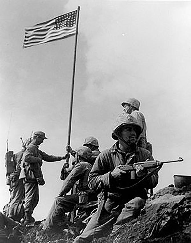 3a.Louis Lowery la prima immagine della conquista del Monte Subachi febbraio 1945