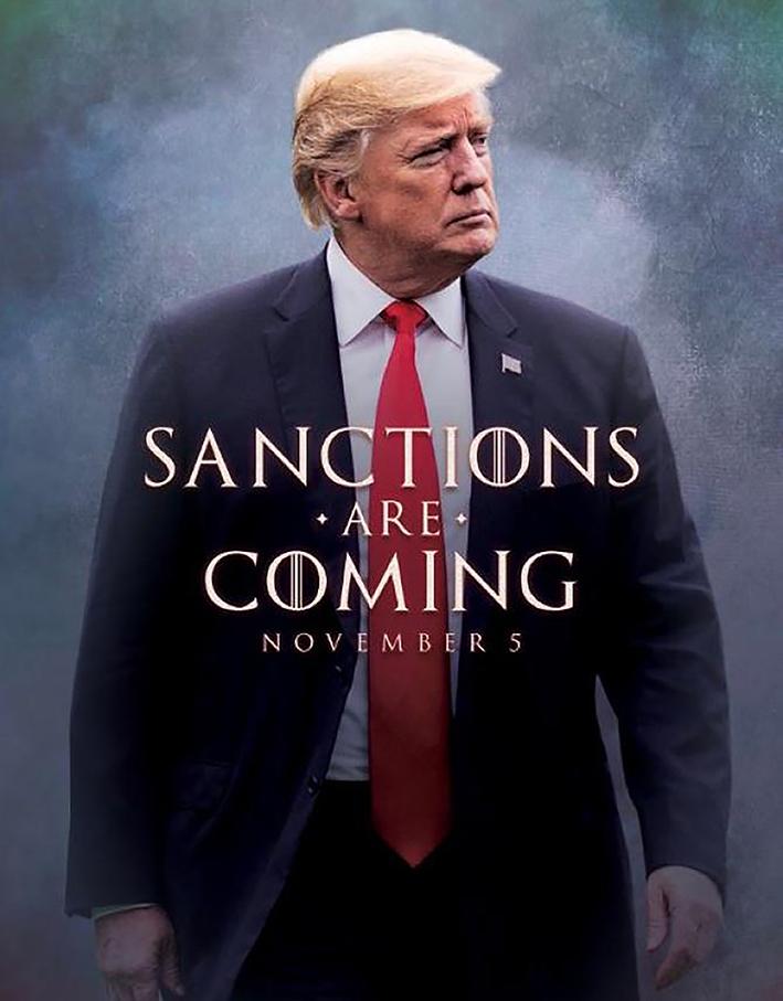 7a. Donald Trump twitta sanzioni economiche contro la Cina novembre 2018